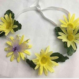 Sydney's Flower Crowns Other - 🎈BOGO1/2🎈 🎉HP🎉. Boho Princess Flower Crown