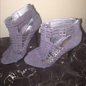 Calvin Klein Suede Booties