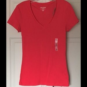 Old Navy Tops - Brand New Pink Old Navy Perfect Fit Tee Size Med