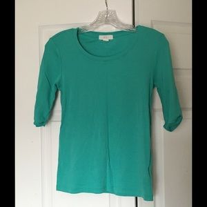 Forever 21 Tops - Forever 21 Short Sleeve Top Teal Color Size Large.
