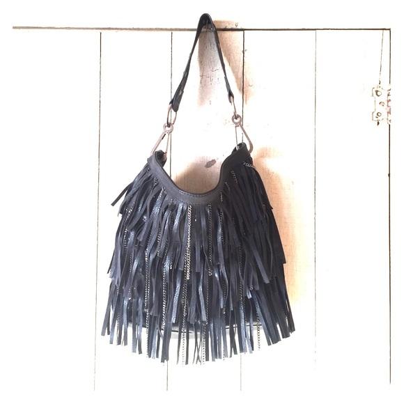 Carlos Santana Handbags - Carlos Santana Black Fringe Purse 03f5dcb8cc0eb