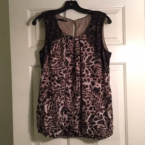 Maurices Tops - Maurices Leopard Print Top.
