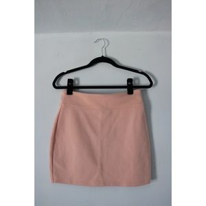 Urban outfitters light pink pencil skirt