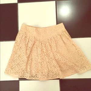 Heritage 1981 Dresses & Skirts - Cream lace skirt