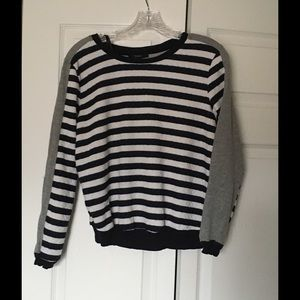 Forever 21 Tops - Forever 21 Striped Sweatshirt Size Large
