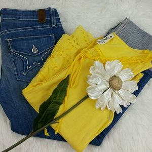 People's Liberation  Denim - 💞SALE💞 Peoples Liberation Premium Crop Denim