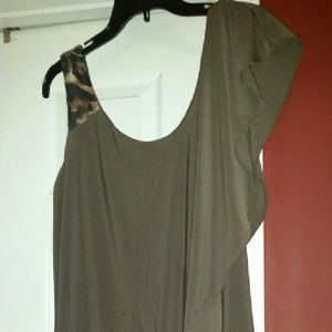Nightway Dresses & Skirts - Brown Party Dress