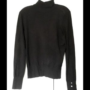 Forever 21 Sweaters - Forever 21 Black Turtleneck Sweater Size Large