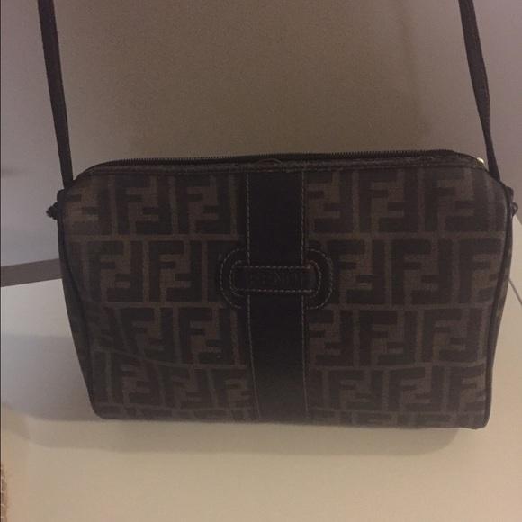 Fendi Handbags - Vintage Fendi zucca bag. 05ff48f5388ef