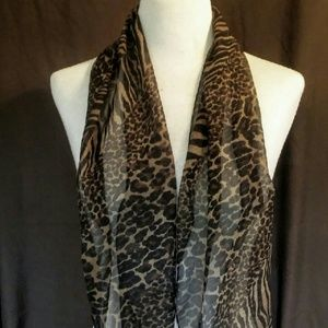 Accessories - 2for1 ANIMAL Print Silky Scarf