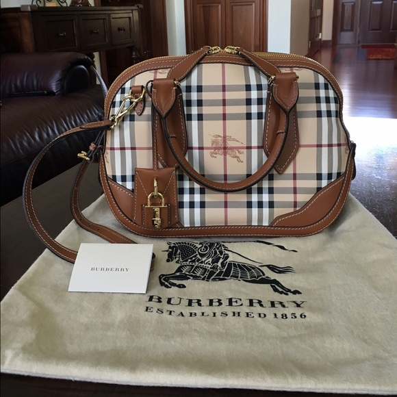 e44cf244937 Burberry Bags   Authentic Orchard Satchel   Poshmark