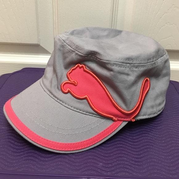 Puma Cadet Military Cap Hat. M 579ec9547fab3a84f60a4f50 709a22928cd