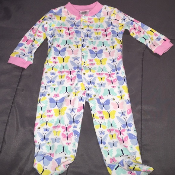 82cc2d45be Baby Gear Other - Baby Gear butterfly footie sleeper and bib