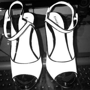 Bebe heels - Size 6