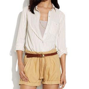 Madewell Sleeper Stripe Boyshirt