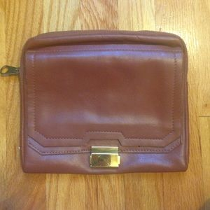 ASOS brown leather bag