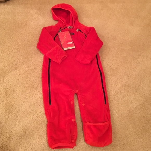 North Face Infant Bunting Outdoor Onesie NWT