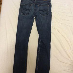 AG the Stevie slim straight jeans size 26