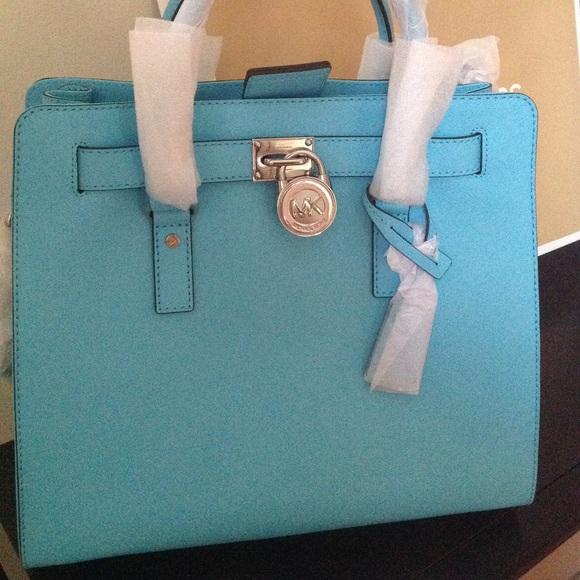 8c0cf5881249 Michael Kors - Easter Color Tiffany blueHamilton