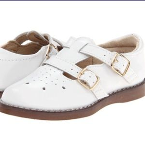 FootMates Other - Footmate White Two Buckle Shoe Infant 3