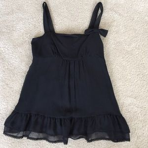 Juicy Couture black tank top.
