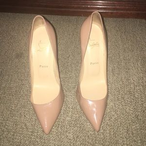 Christian Louboutin Shoes - Christian Louboutin Pigalle 120 Patent Calf