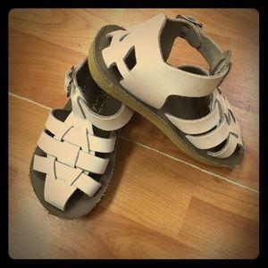 Salt Water Sandals by Hoy Other - White Shark Sandals Saltwater Sun San 6 Salts