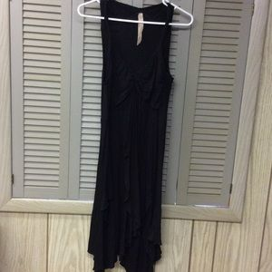 Bailey 44 Dresses & Skirts - Black draping summer dress.