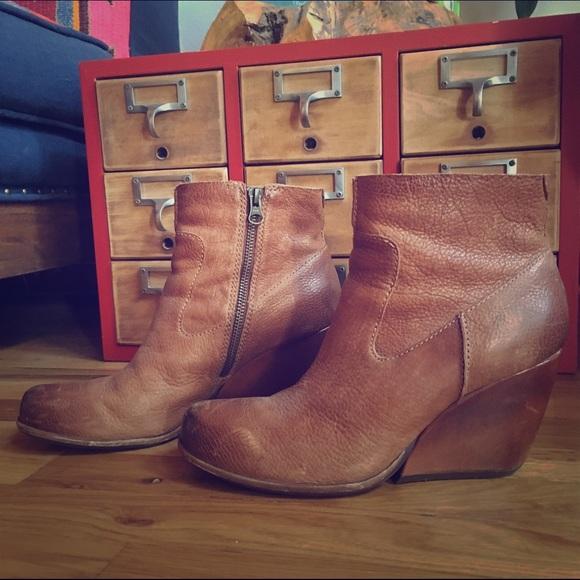 4a67307310ab Kork Ease Shoes - Kork Ease Natalya Cruz Wedge Boot size 9