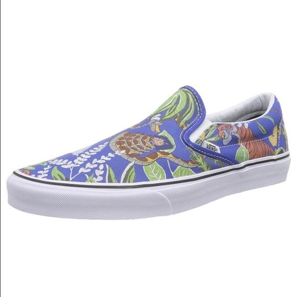 4ccbd3fd85 Vans Shoes | Soldans Adult Unisex Jungle Book Slip On Size 10 | Poshmark