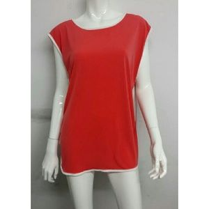 Rag Therapy  Tops - Coral Plus Size Tunic Top