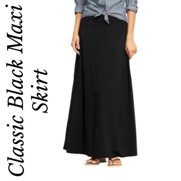 28 merona dresses skirts merona black maxi