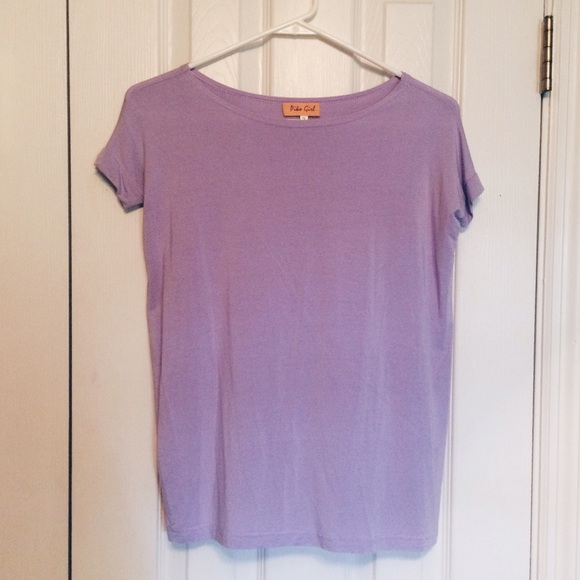 piko girl tops light purple short sleeve top poshmark