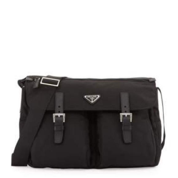 1bd1867ab3 france prada messenger bag black 2vh05364vooo 21b06 b588a  australia prada  nylon messenger bag 0a6bf e448c