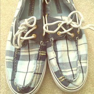 Sperry Shoes - PLAID SPERRYS!!