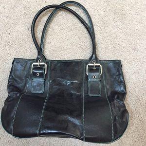 Hype Black Leather Purse