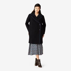   Kate Spade Saturday Piped Over coat jacket