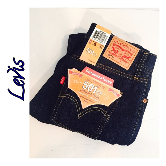 20f5a898 Levi's Jeans   Nwt Womens Levis 501 Ct Button Fly   Poshmark