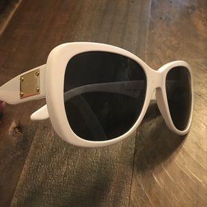 White Versace Sunglasses