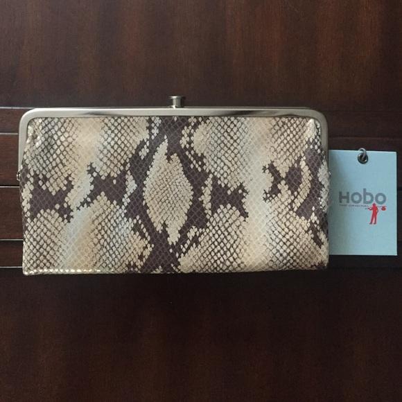 41 Off Hobo Handbags New Hobo Lauren Leather Wallet In