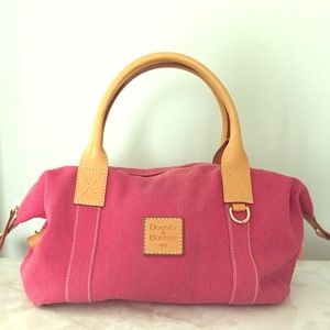 Dooney & Bourke Handbags - Authentic Dooney & Bourke Raspberry satchel