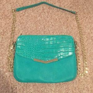 Olivia + Joy Handbags - Turquoise Purse