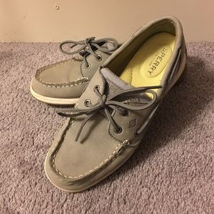 Sperry Top-Sider Shoes - Gray Sperry Top-Sider Boat Shoes