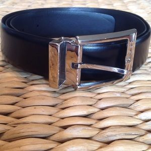 a. testoni Other - A.testoni black leather belt made in Italy