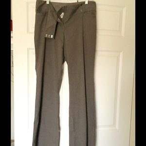 The Limited Pants - The Limited Cassidy Fit Size 10L Brown Trousers