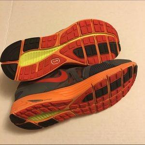 Nike Lunarglide Nero E Arancio Dimensioni 11.5 G6CPM