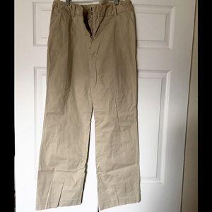 Merona Pants - Merona Straight Leg Khaki Pants Size 12