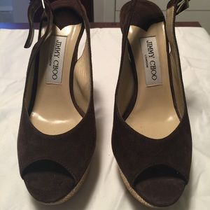Authentic Jimmy Choo Platform Pumps!