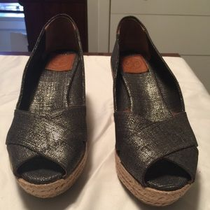 Tory Burch Shoes - Tory Burch Wedges!