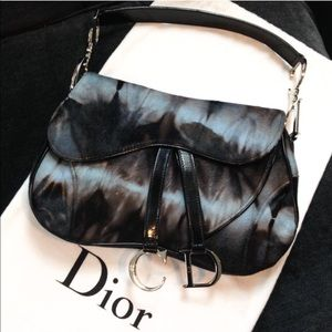 Christian Dior Handbags - Authentic Christian Dior Saddlebag